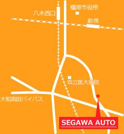 瀬川オート地図